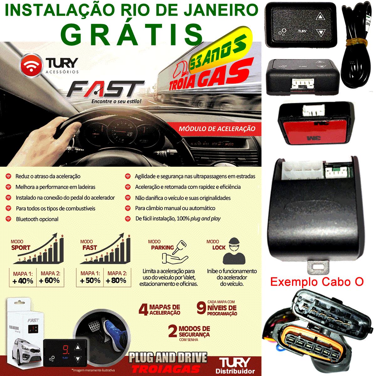 Fast 1.0 S Módulo Acelerador Renault Plug & Play