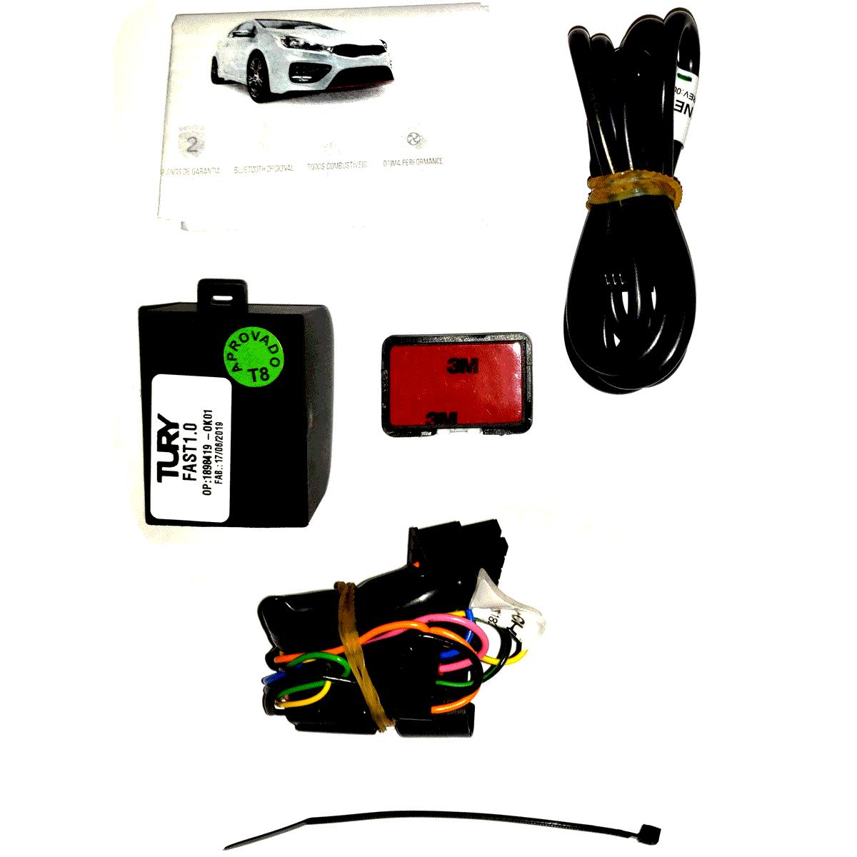 Fast 1.0 U Módulo Acelerador Honda Conector Plug & Play