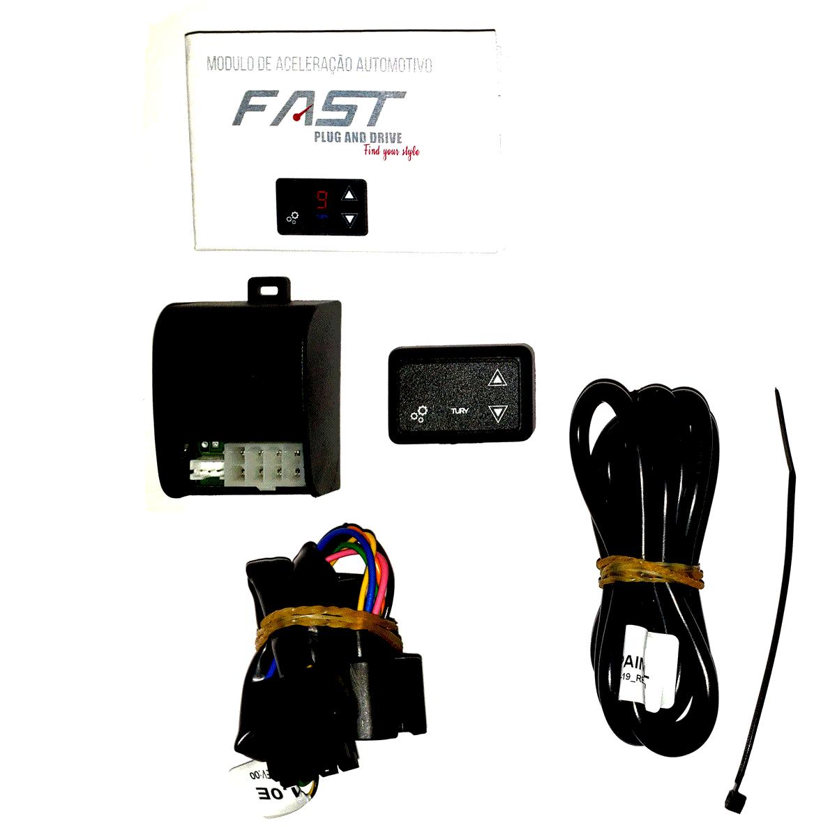 Fast 2.0 Z Módulo Acelerador Bluetooth Honda Conector Plug & Play