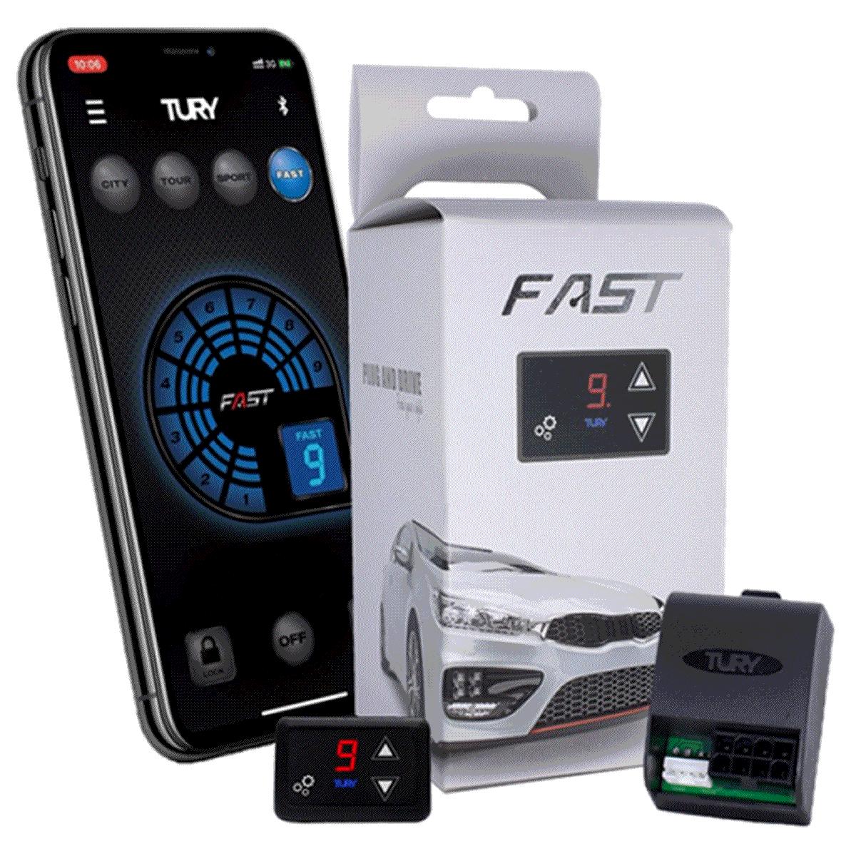 Fast 2.0 O Módulo Acelerador Fiat Jac Kia Nissan ... Plug & Play