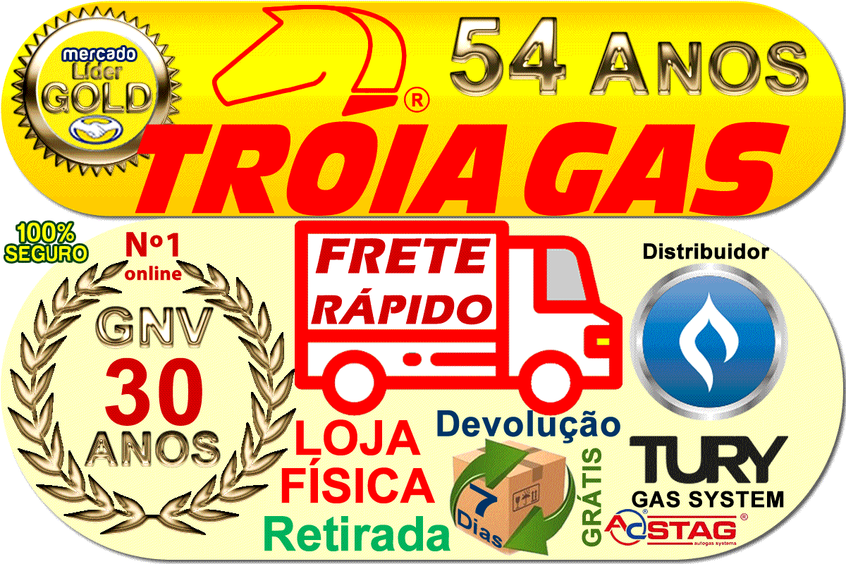 Filtro GNV 5ª Geração STAG Protege Bicos de Óleo e Sujeiras