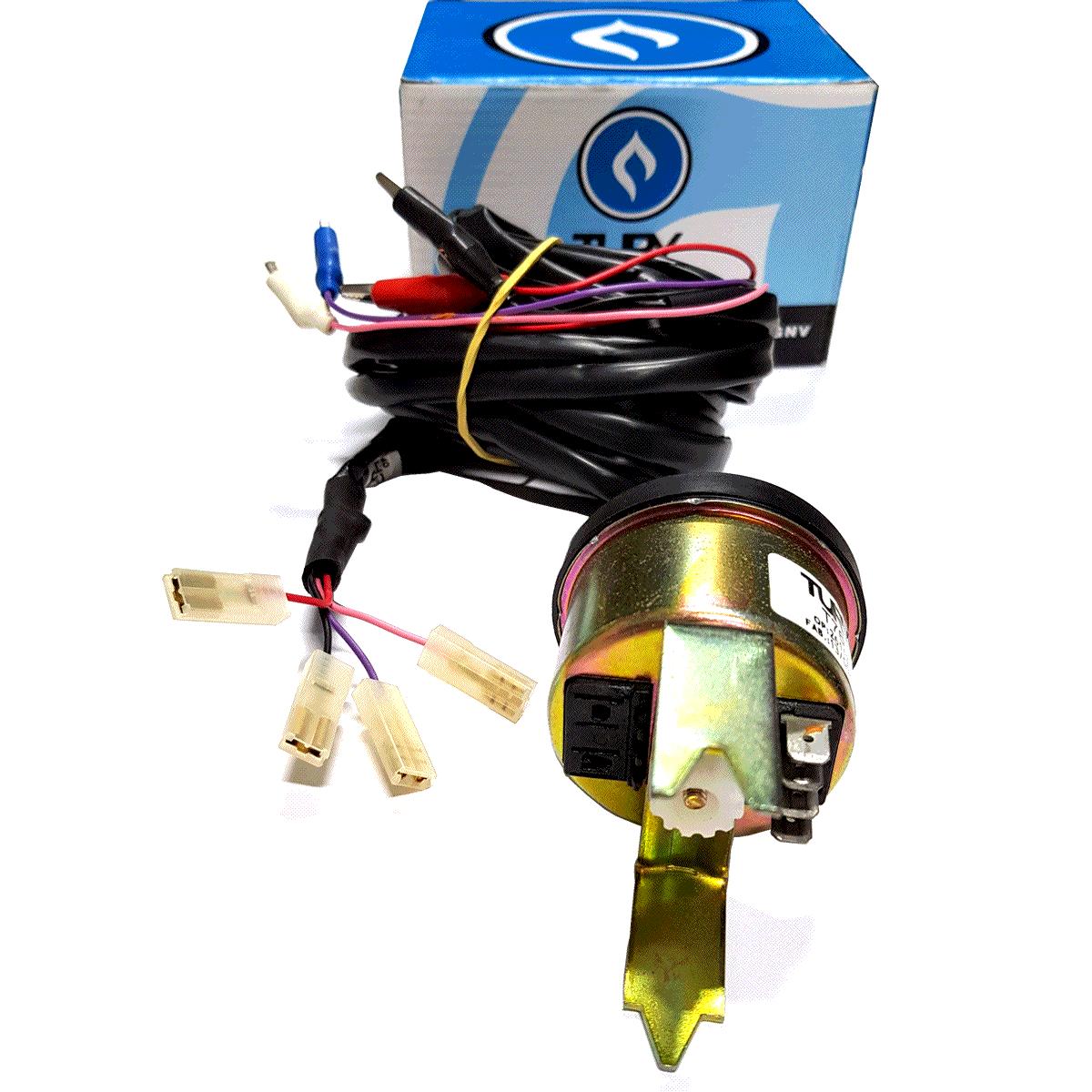 Instrumento de Leitura Sonda Lambda e Tempo de Injeção TURY T76