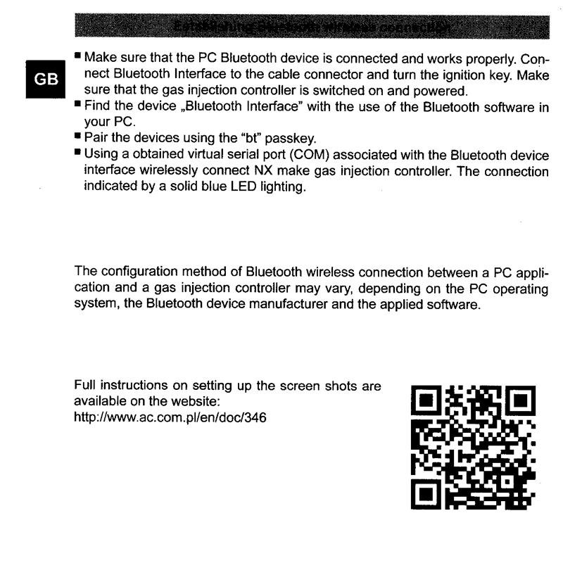 Interface Programação por Bluetooth Next p/ 5ª Geração e Variadores STAG - TURY GAS
