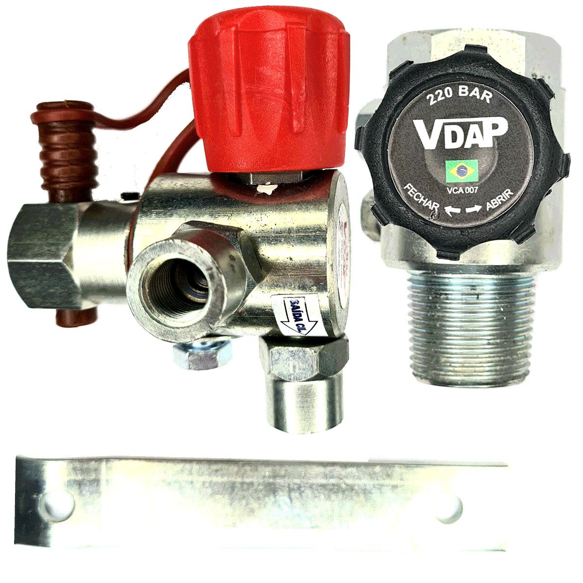 Kit 2 Válvulas VDAP Abastecimento e Cilindro (Par)