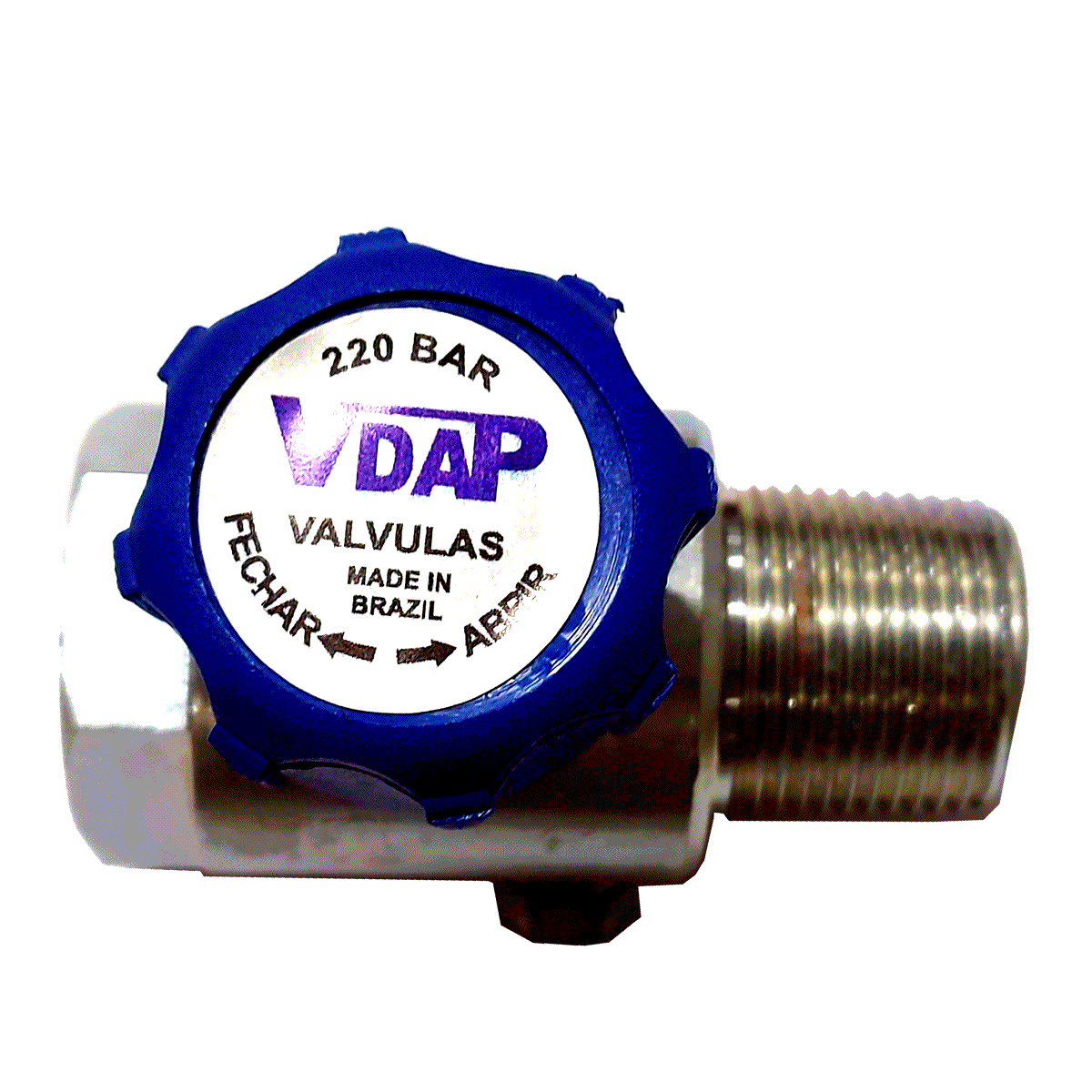 Kit 2 Válvulas VDAP Abastecimento Externo e Cilindro