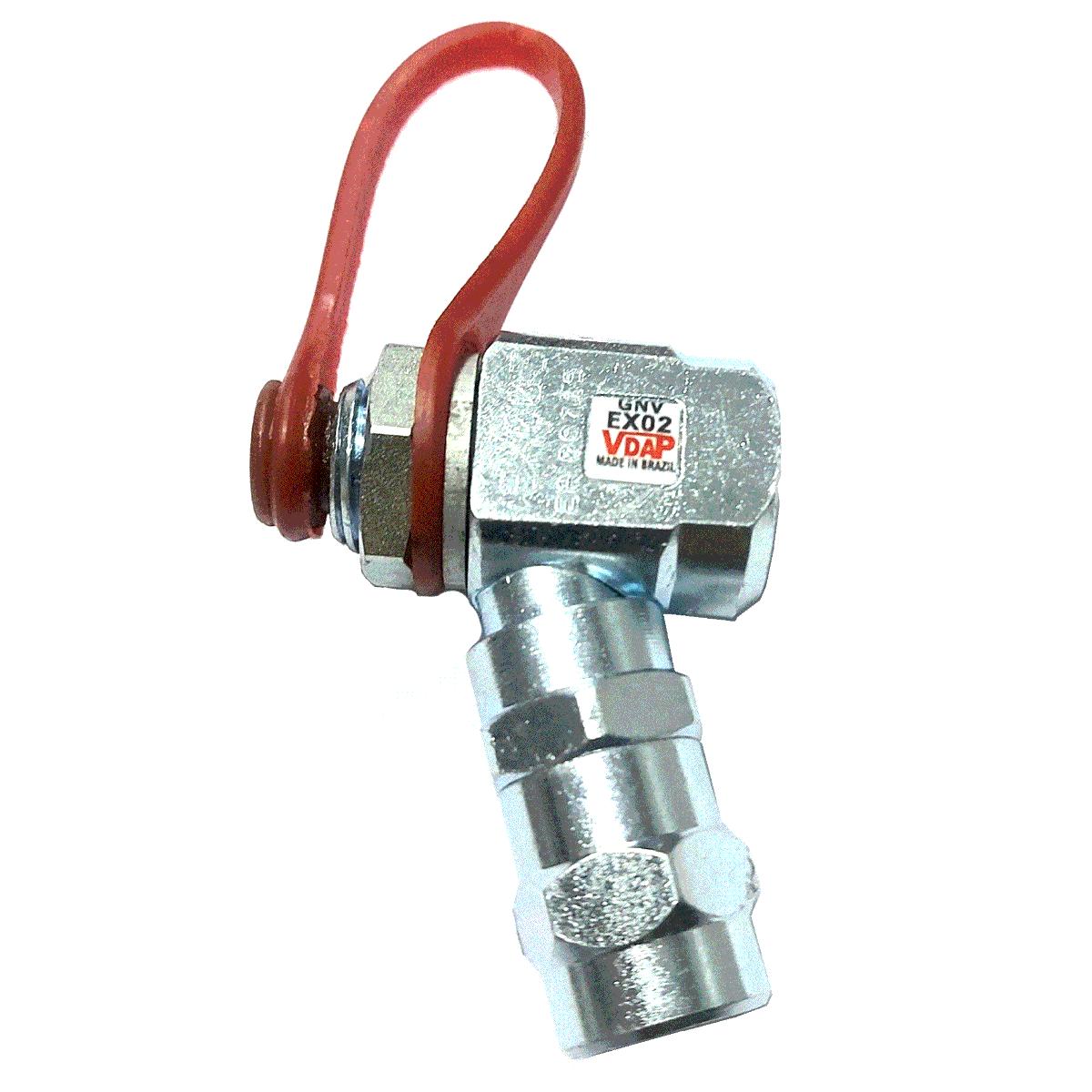 Kit 2 Válvulas VDAP Externa e Abastecimento GNV