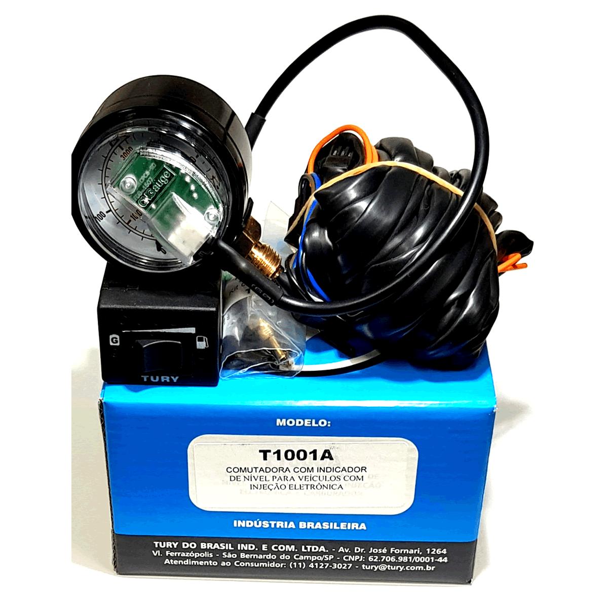 Kit 3ª Geração GNV 4  cil. Lovato Super Variador + 2 Válvulas + Minuterias
