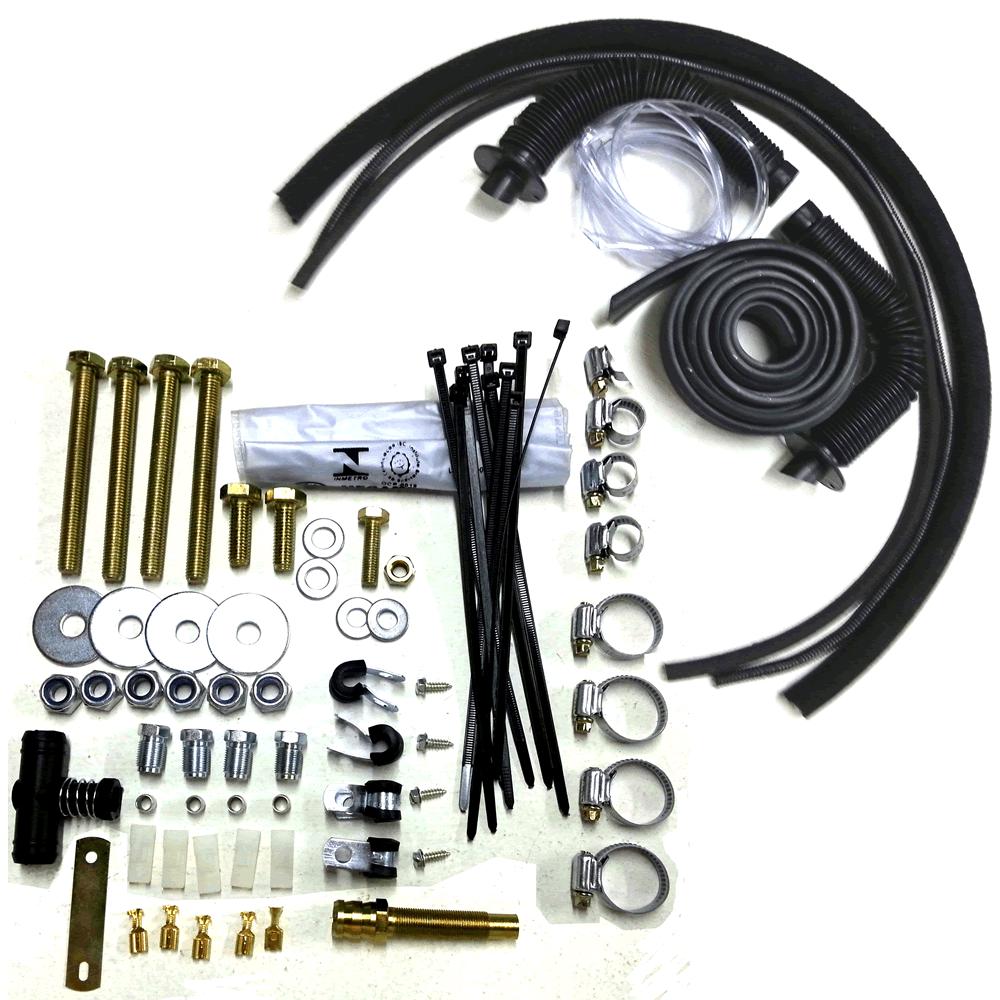 Kit 3ª Geração GNV 4  cil. Tomasetto Variador + 2 Válvulas + Minuterias