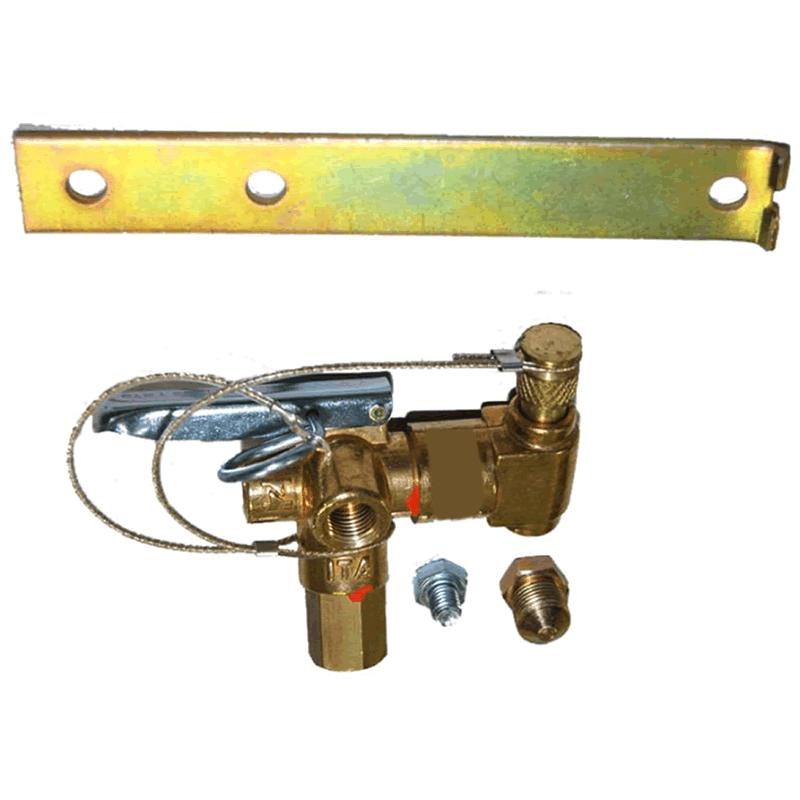 Kit 3ª Geração GNV Flex 4  cil. Tomasetto Variador 2 Válvulas Minuterias