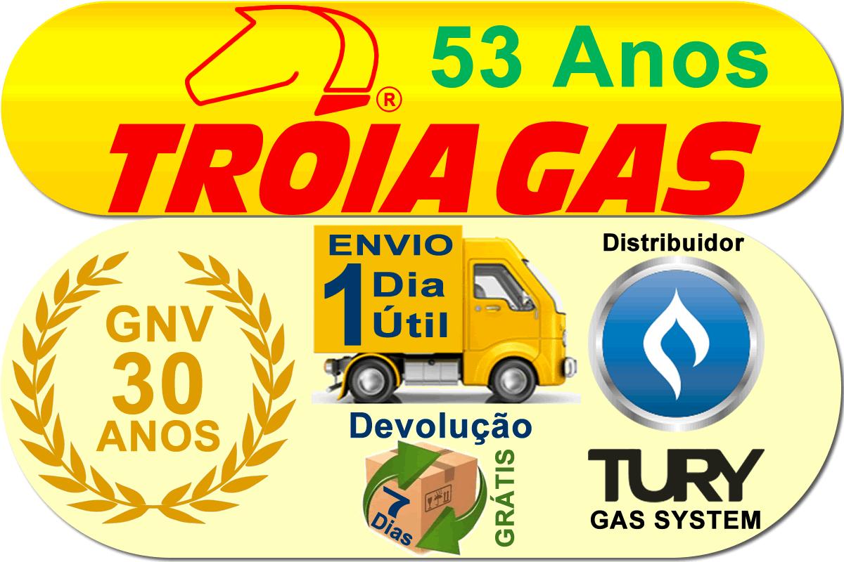 Kit 5ª Geração STAG 6 QMAX Basic TURY GAS