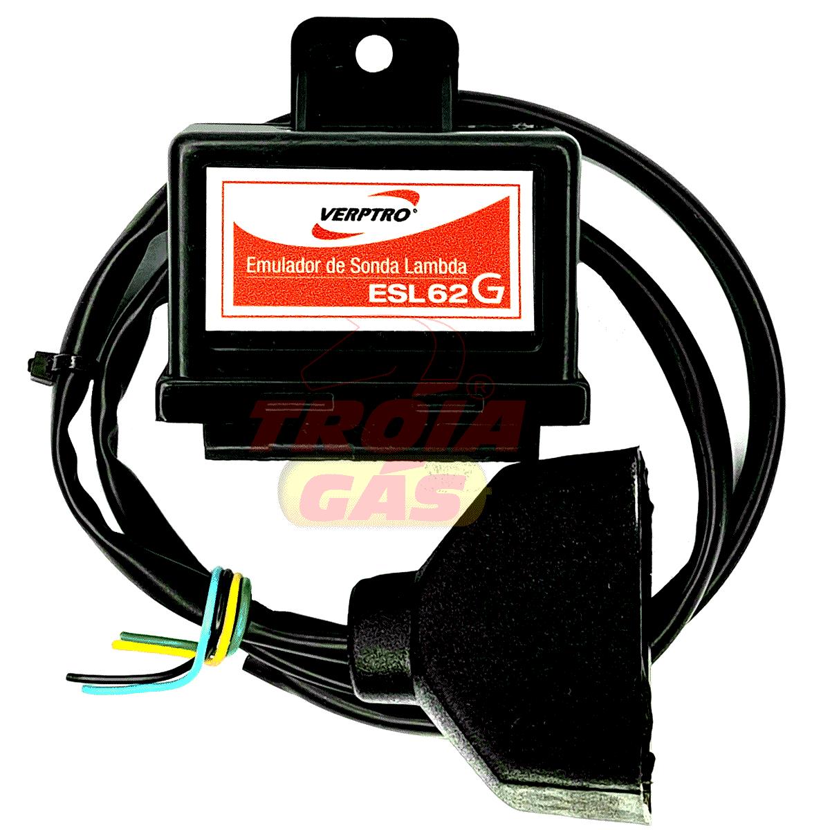Kit Comutadora Tury Emulador Verptro 4 Bicos Simulador de Sonda Gasolina Fixo Versim4 ESL62G