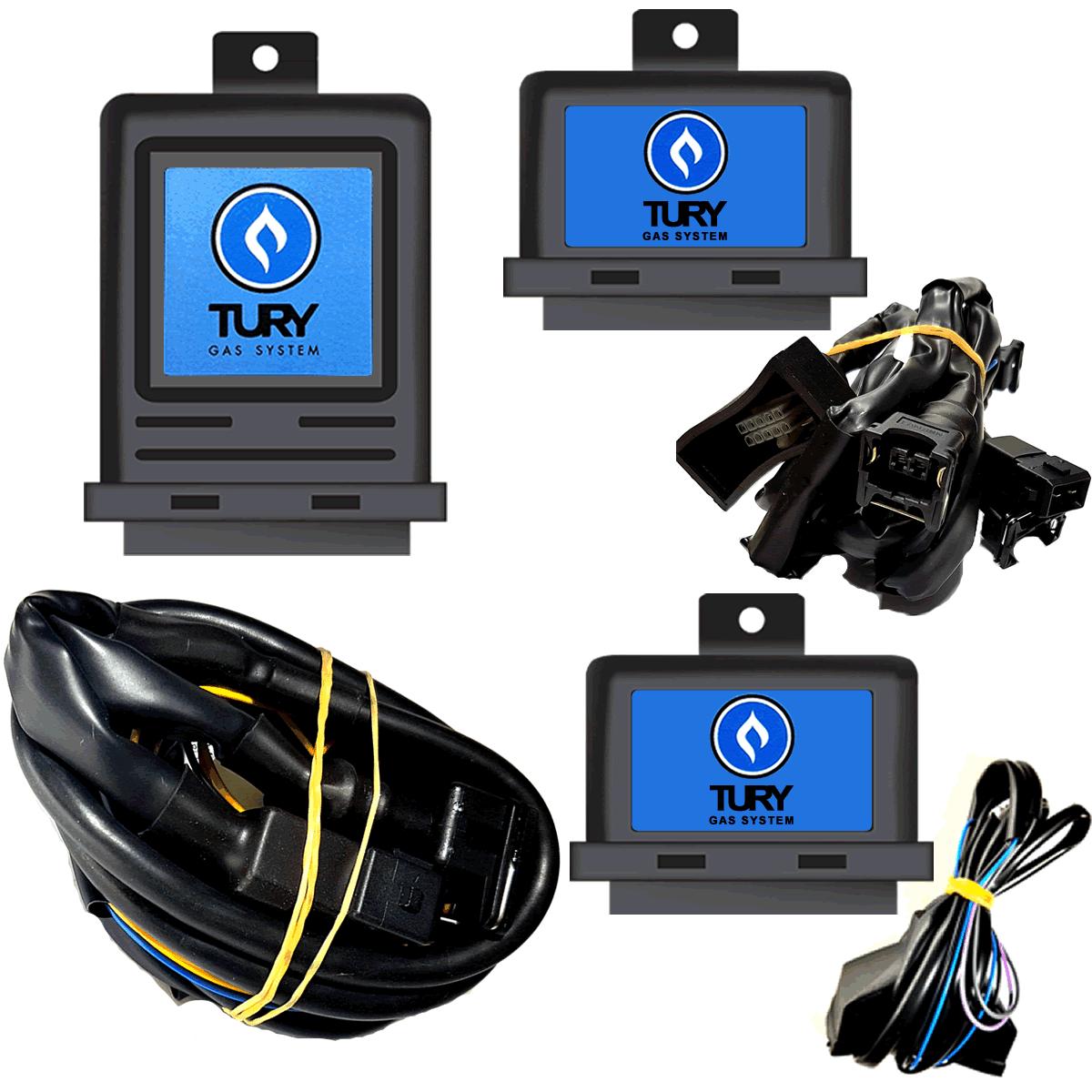 Kit Eletrônicos GNV Tury E Válvulas ITA T1000 T54 T63 T30