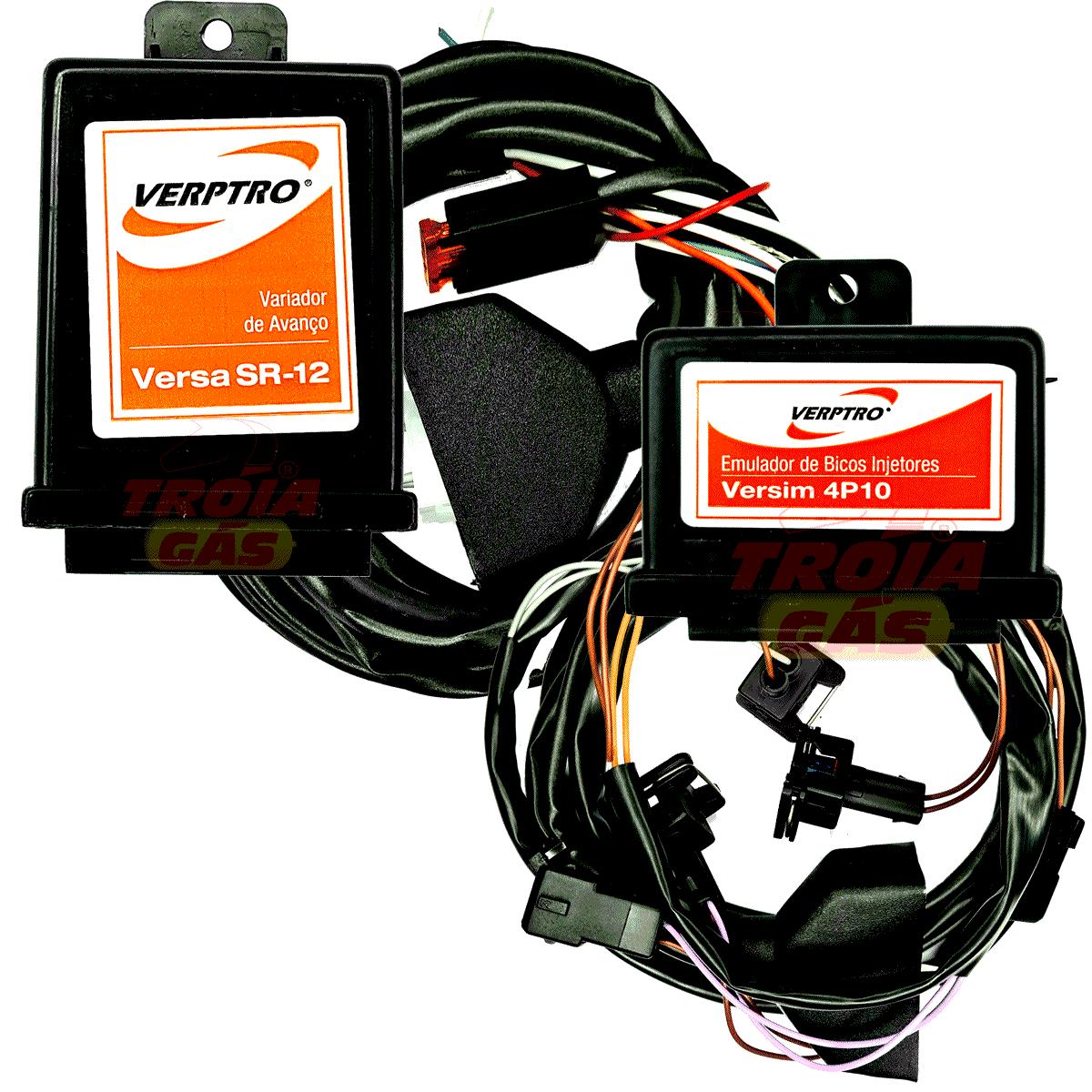 Kit Emulador de 4 Bicos e Variador de Avanço Sensor Hall e Fase Versim4 SR12