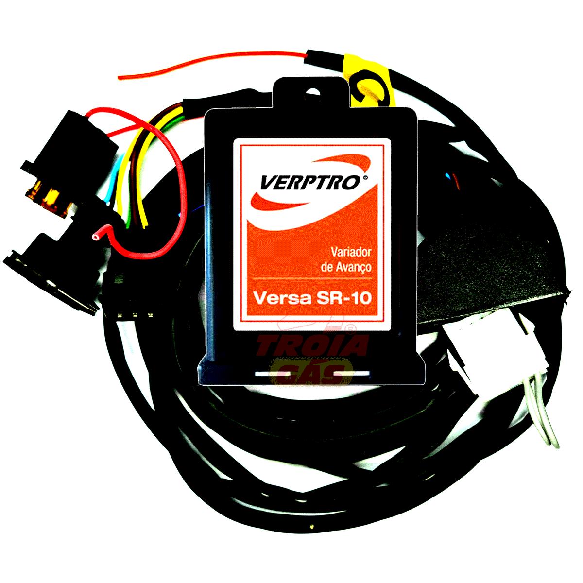 Kit Emulador de 4 Bicos Simulador Sonda Gasolina Variador Versim4 ESL62G SR10