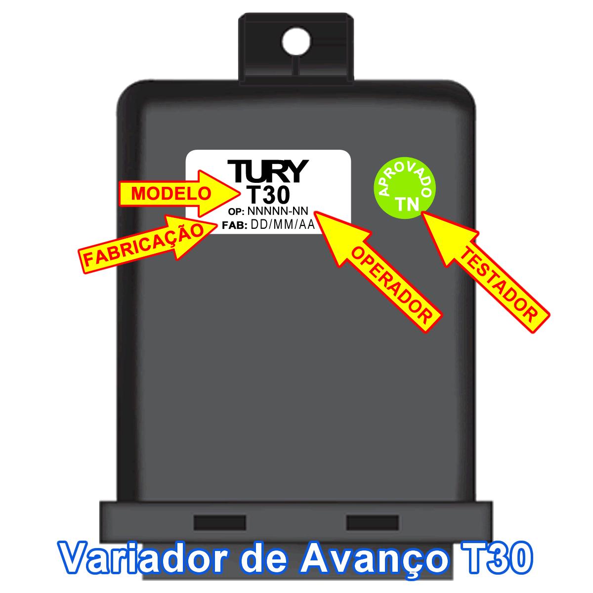 Kit GNV 3ª geração  Landi Renzo FlexTURY c/Variador, Válvulas s/Cilindro e Suporte