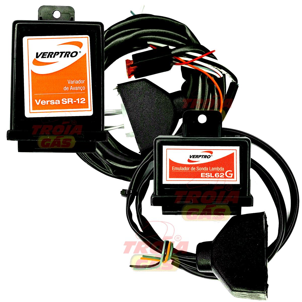 Kit Simulador Sonda Gasolina Variador Sensor Hall Fase Verptro ESL62G SR12