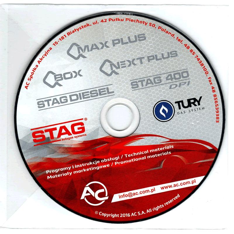 Kit Stag Qbox 5ª Geração 4 cilindros com OBD Minuterias Variador e Válvulas