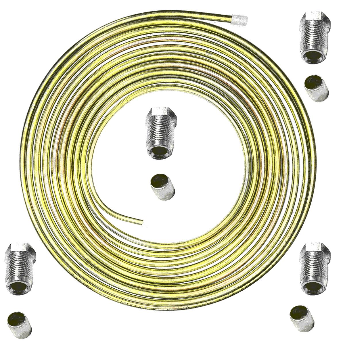 Kit Tubo de Alta GNV Revestido 4 Niples e Anilhas Qualquer Geração