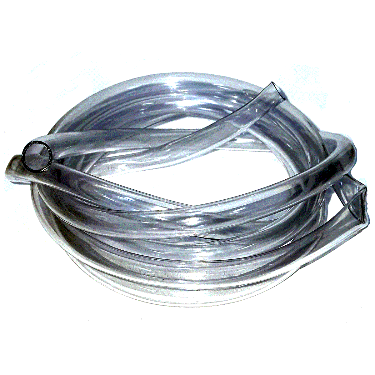 Mangueira 1m Plástica Cristal para Água 5/16 x 1 mm GNV 1ª a 4ª geração