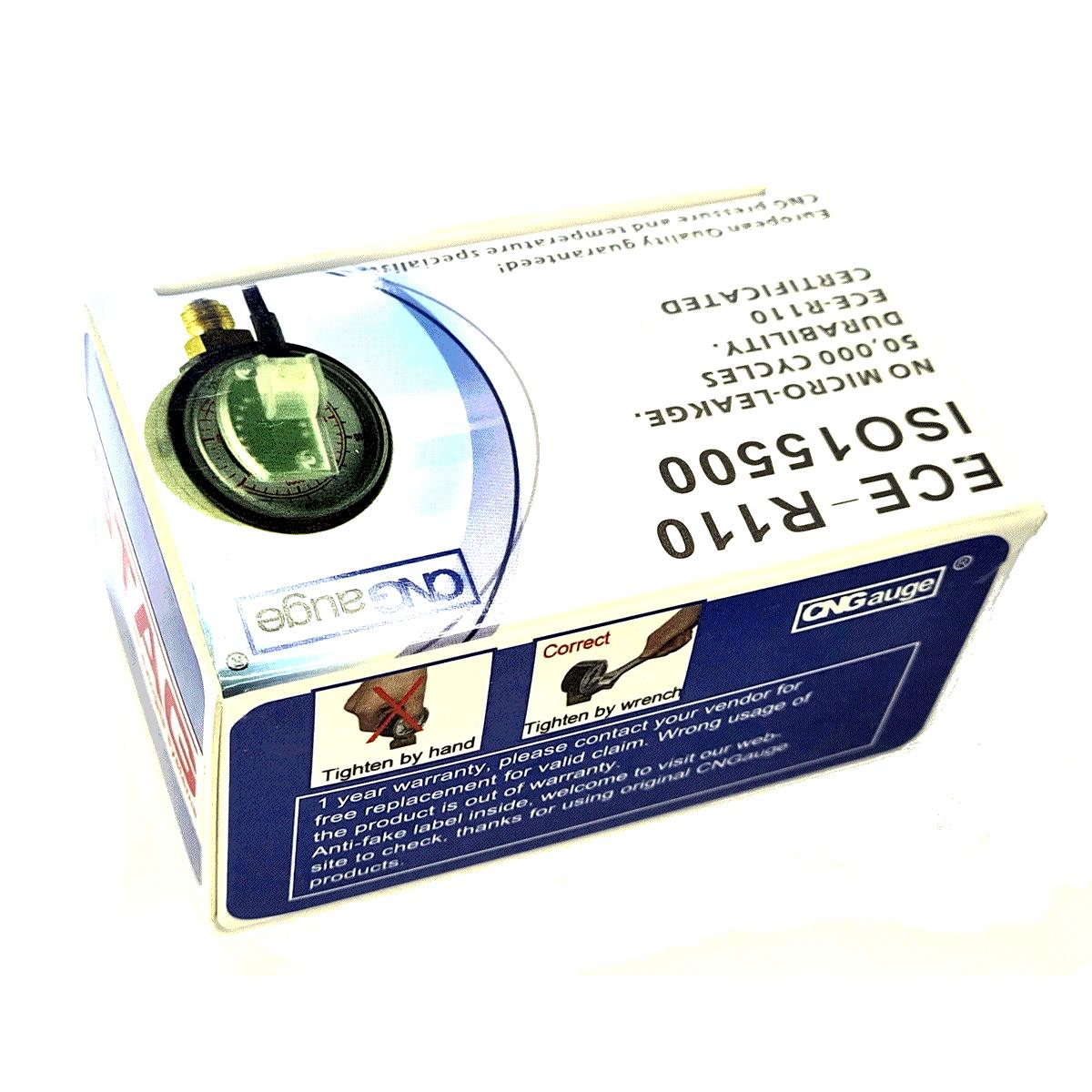 Manômetro AC STAG para Kit 5ª e 6ª geração TURY GAS