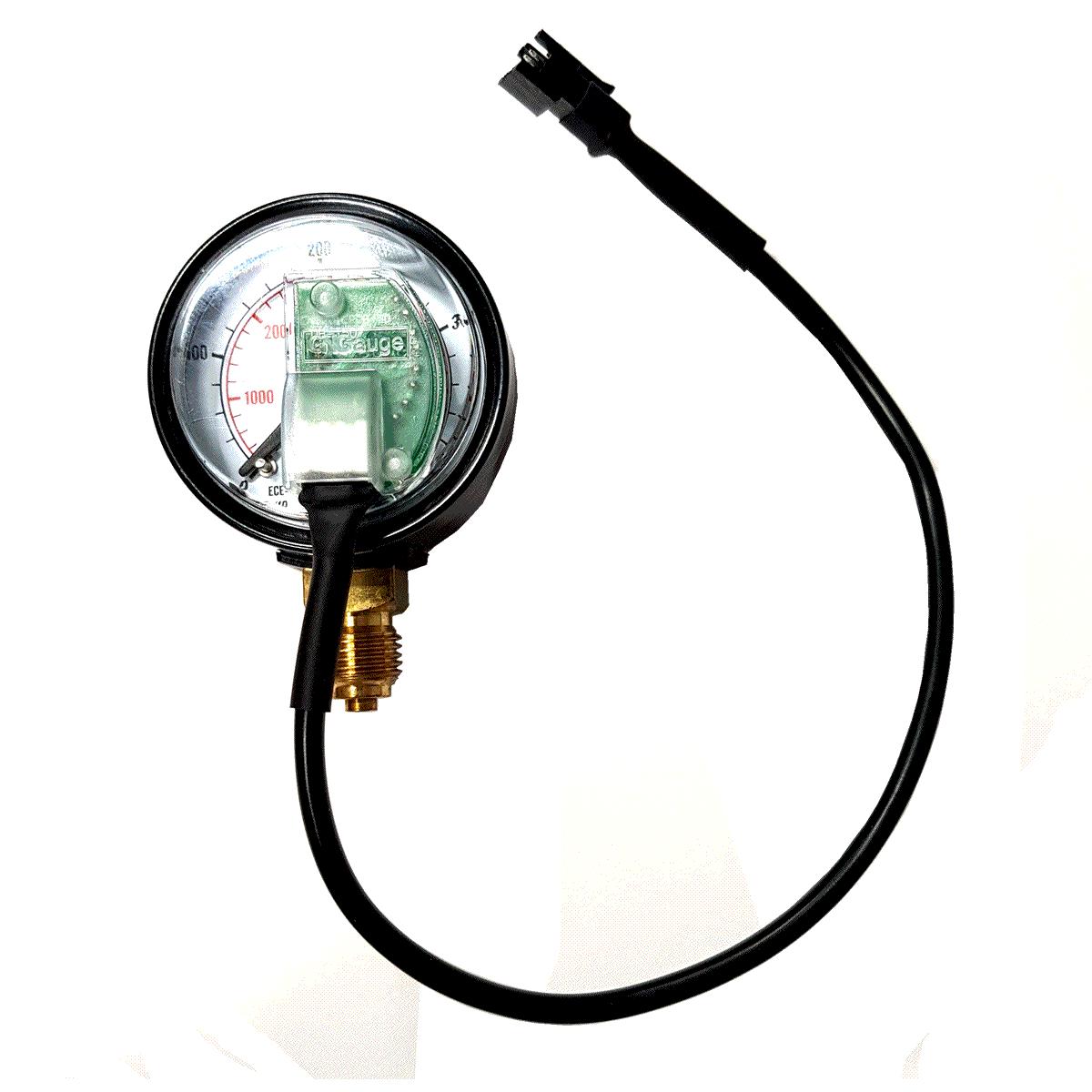 Manômetro T800 P/comutadoras TURY GAS T1000 T1011 T1015 T1200 T3000 IGT