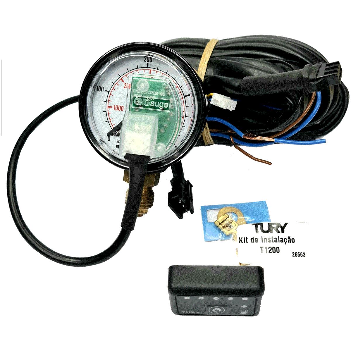 Micro Chave Comutadora T1200A GNV mais  Moderno veículos injeção