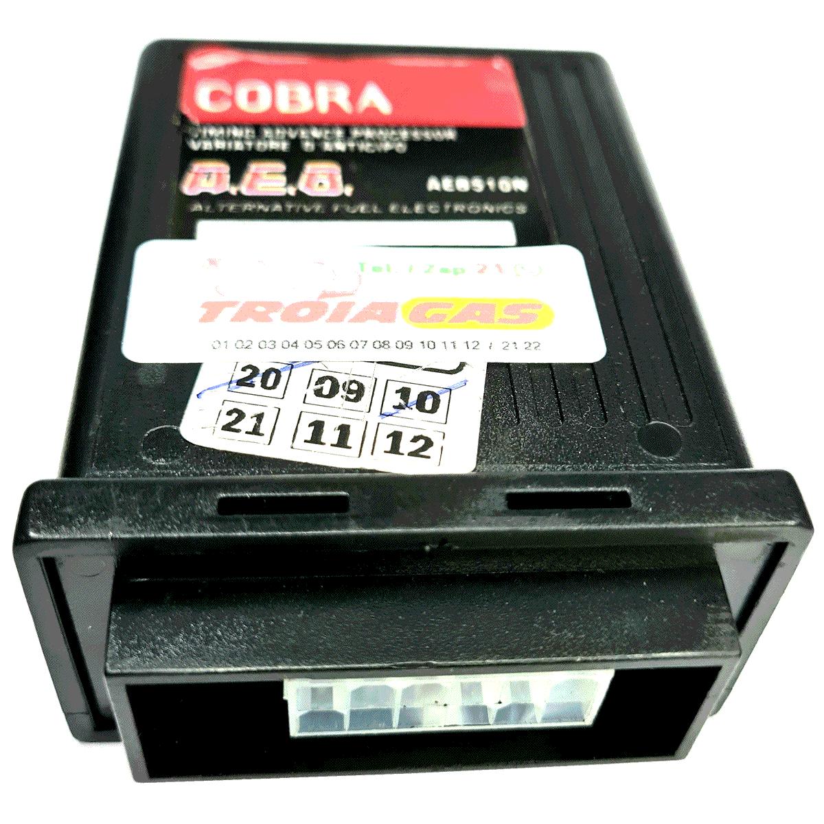 Módulo Semi-Novo Variador de Avanço Cobra 510N Sensor Rotação GNV Usado Sem Chicote