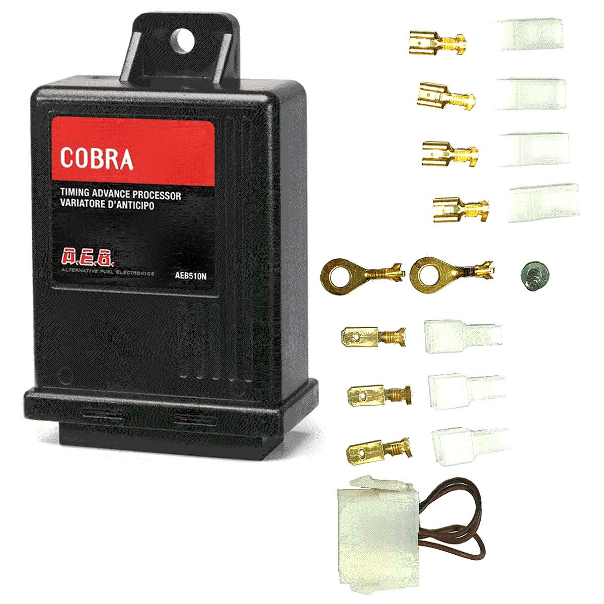 Módulo Variador de Avanço AEB 510N Cobra Sensor Rotação GNV Sem Chicote