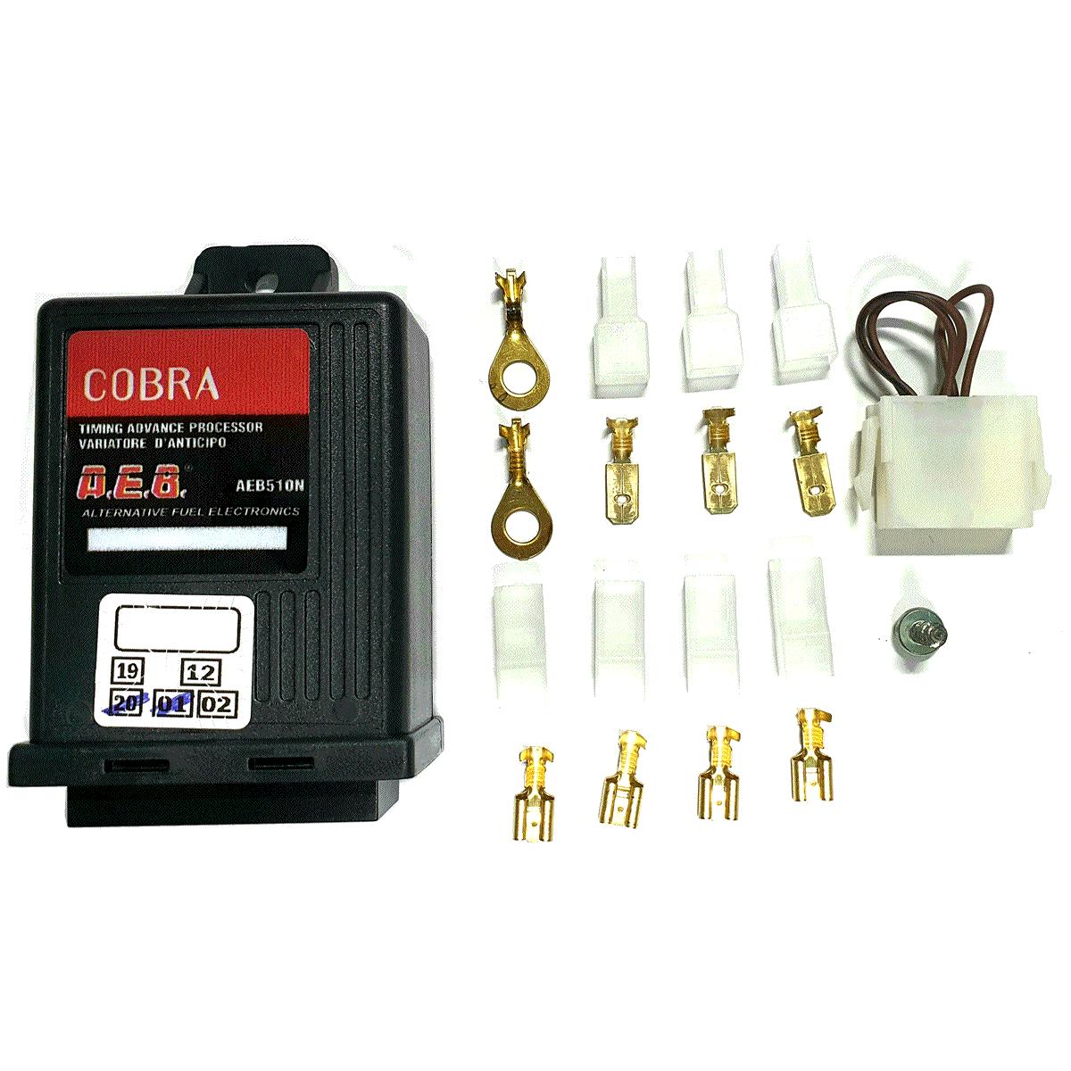 Módulo Variador de Avanço AEB 510N Cobra Sensor Rotação p/GNV Sem Chicote