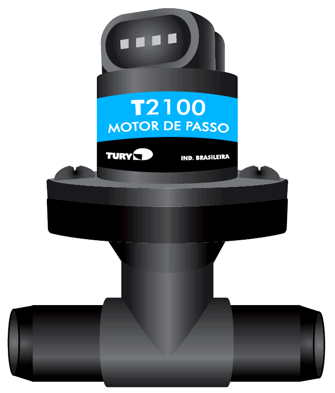 Motor de Passo T2100 TURY GAS p/Gerenciador de Fluxo 4ª geração