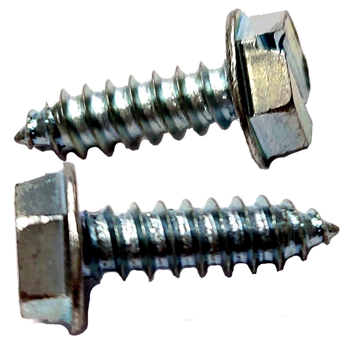 Parafuso Rosca Soberba 4,8x16 mm Sextavado 8 mm com fenda