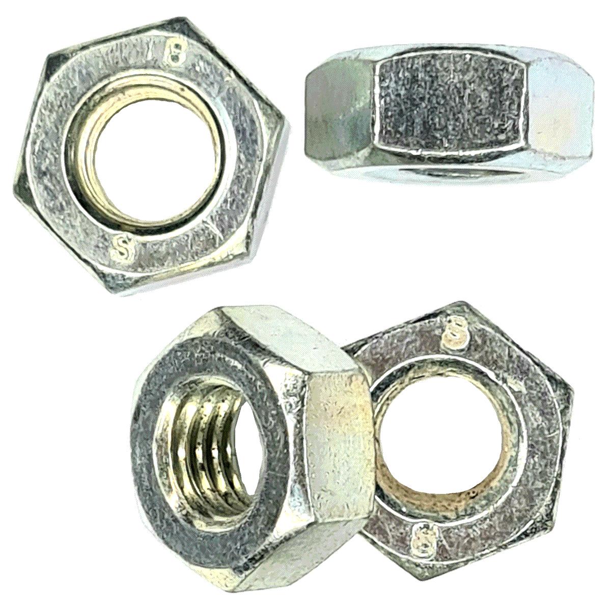 Porca Sextavada 10 mm Auto-travante Nylon MA 8.8