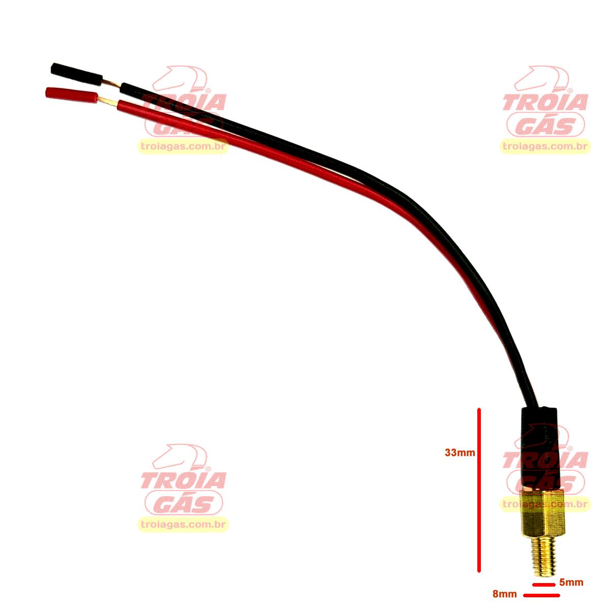 Sensor de Temperatura da Água Redutor Tomasetto 5ª geração Stag TA