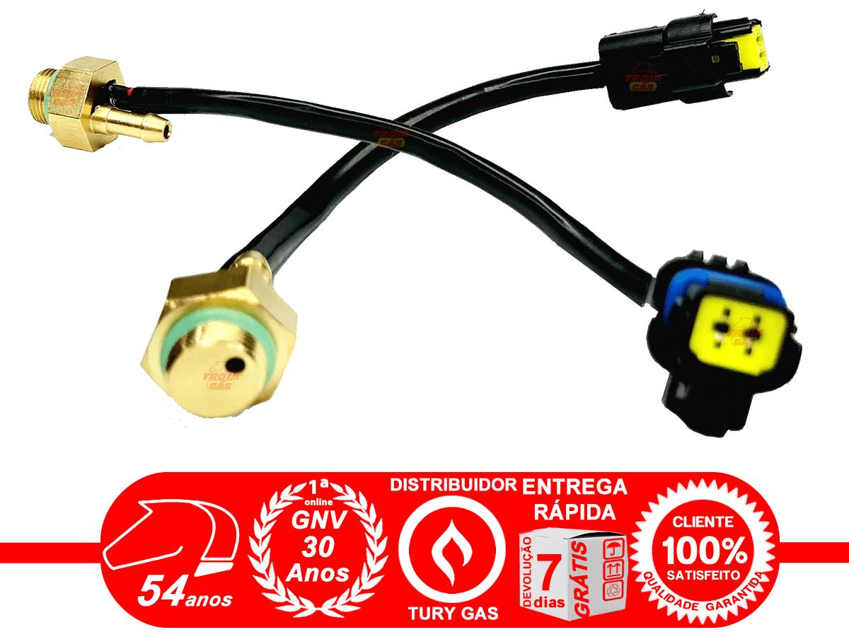Sensor de Temperatura de Rampas Valtek e Tomasetto com Saída Pressão 5ª geração