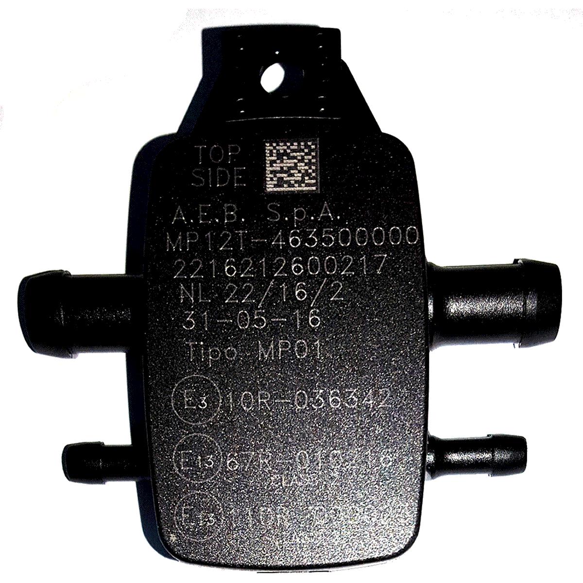 Sensor MAP D12 Emer GNV 5ª Geração Original Valtek Emer para módulos MP48