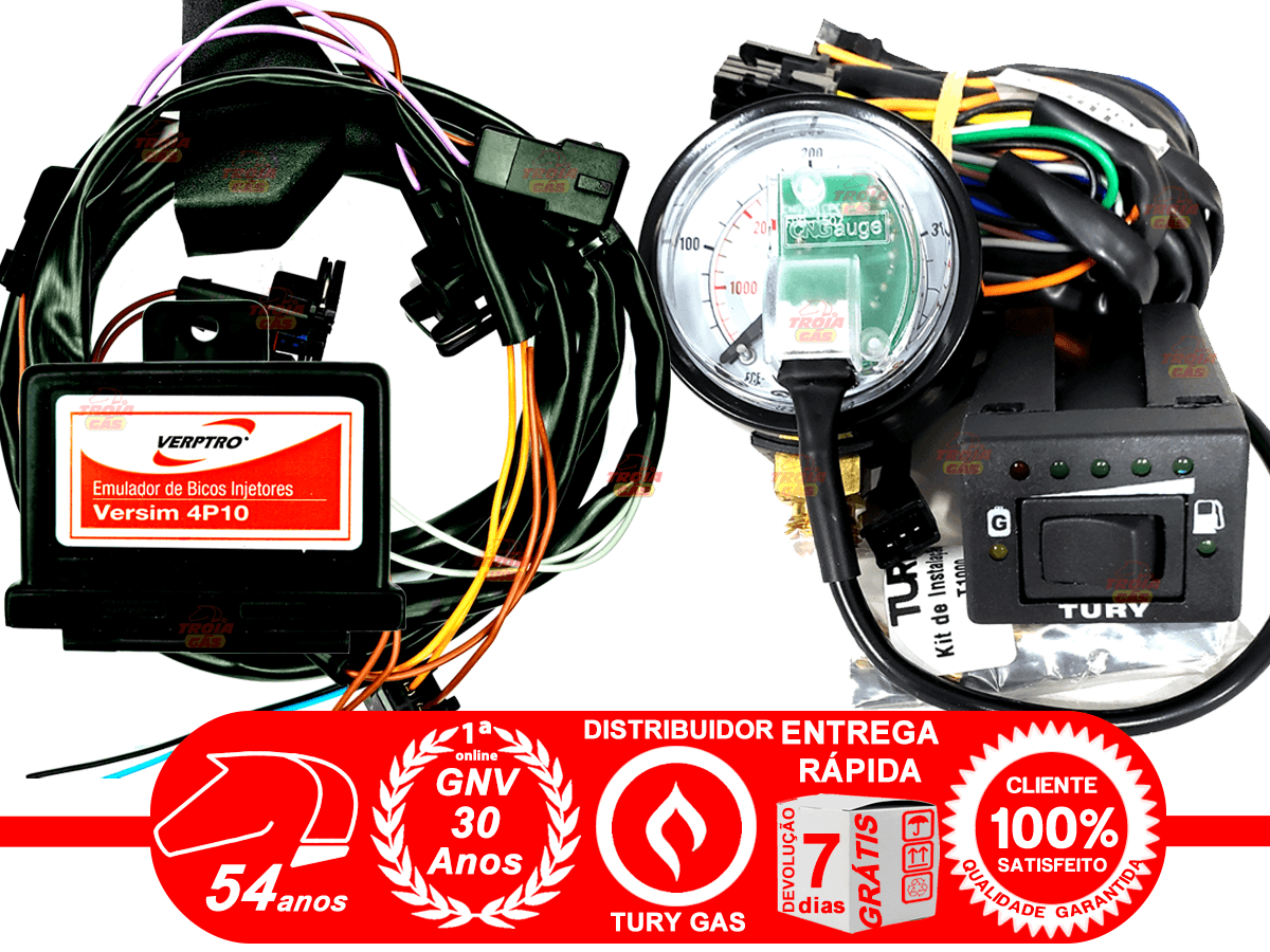 Simulador 2 Sondas Flex Master Variador Avanço SR12 Emulador 4 Bicos Verptro Chave T1000A Tury
