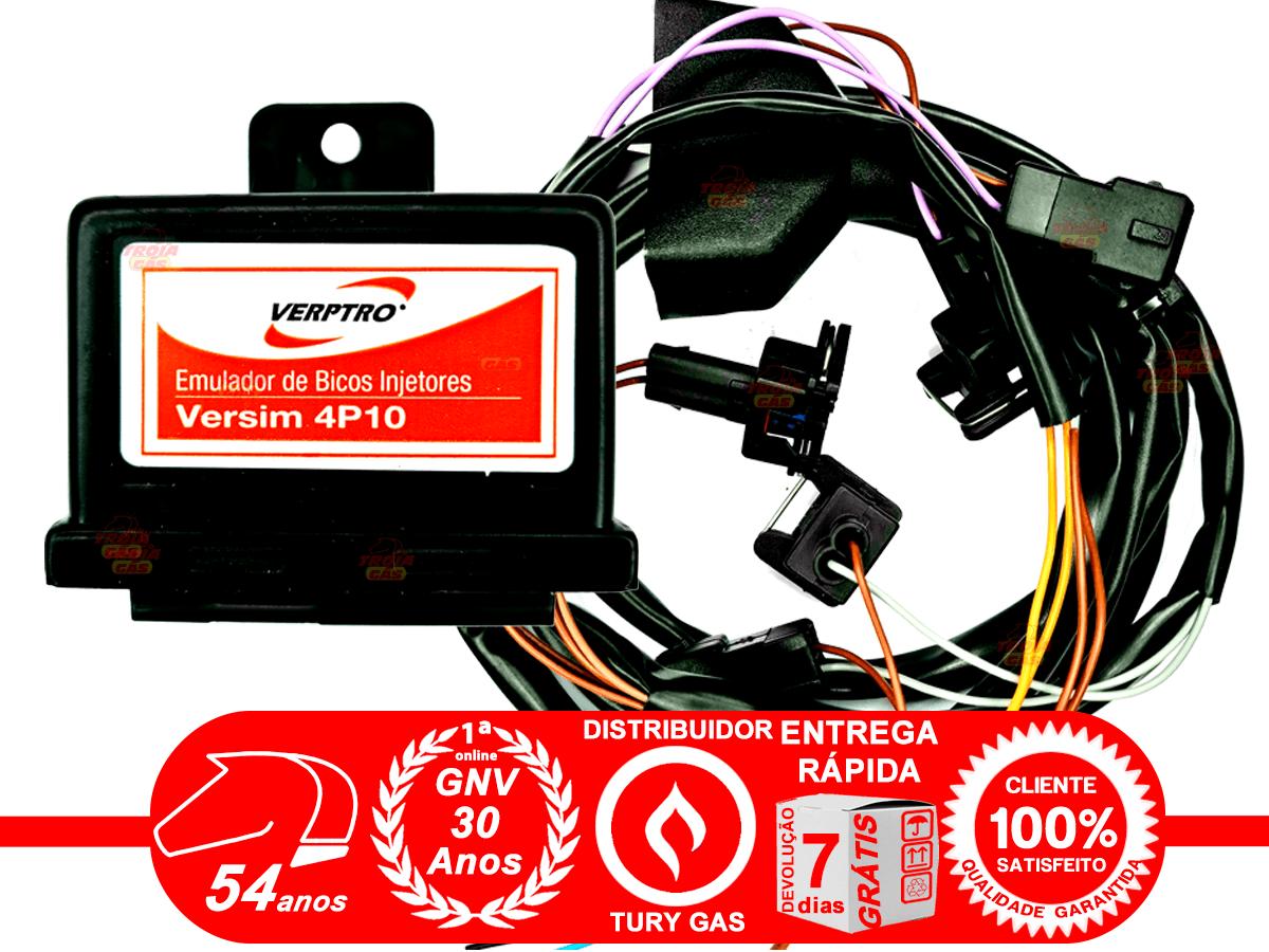 Simulador 2 Sondas Flex Verptro ESL Master e Variador Avanço SR12 e Emulador de 4 Bicos