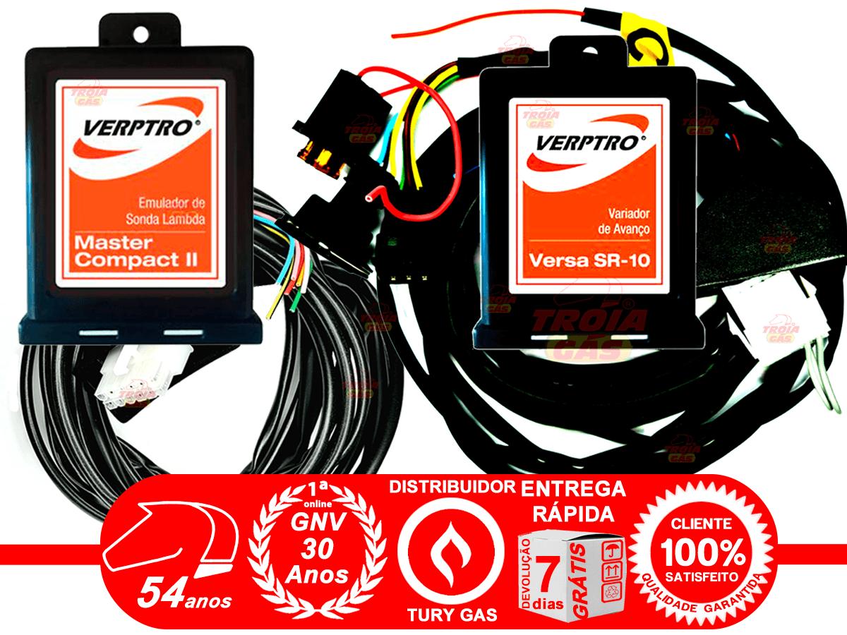 Simulador de 2 Sondas e Flex Verptro Master Compact II e Variador de Avanço SR10