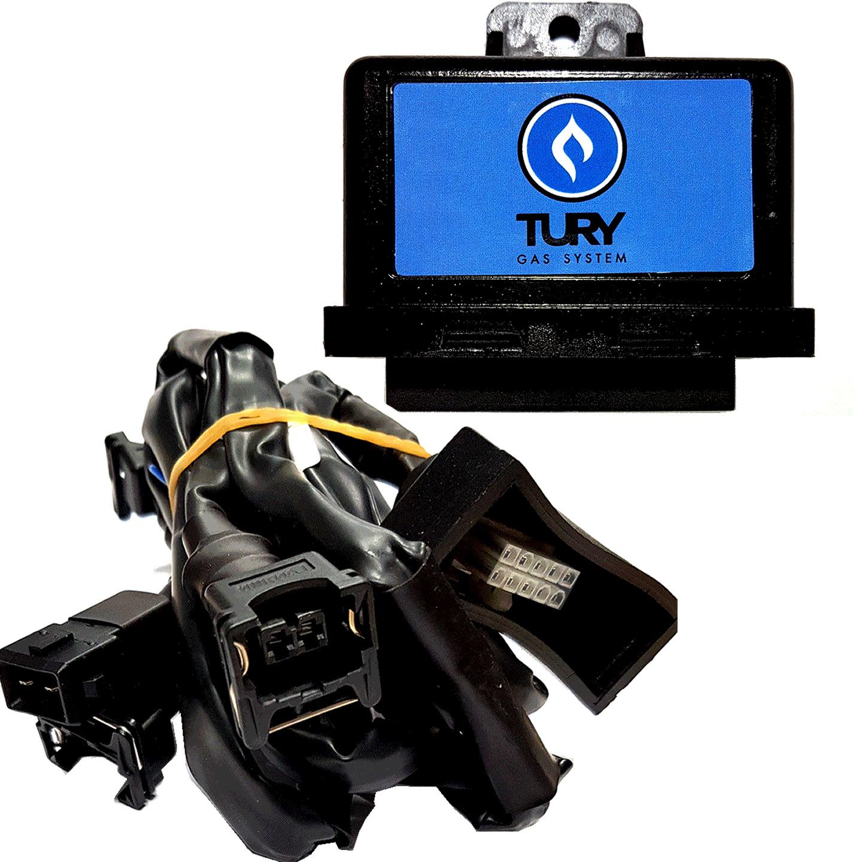 Simulador de 4 Bicos Injetores c/Chicote TURY GAS T54A