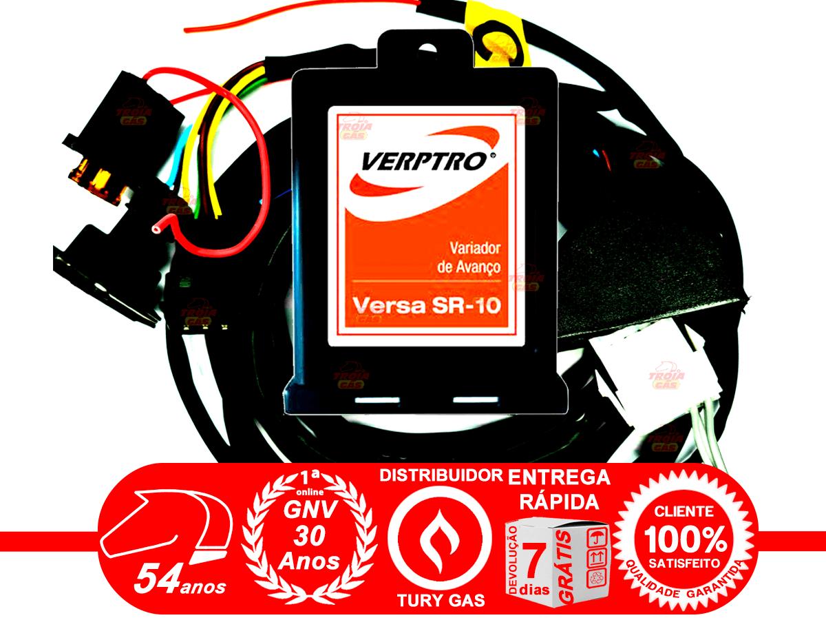 Simulador Flex 2 Sondas Master Compact II e Variador Avanço SR10 Emulador 4 Bicos Verptro