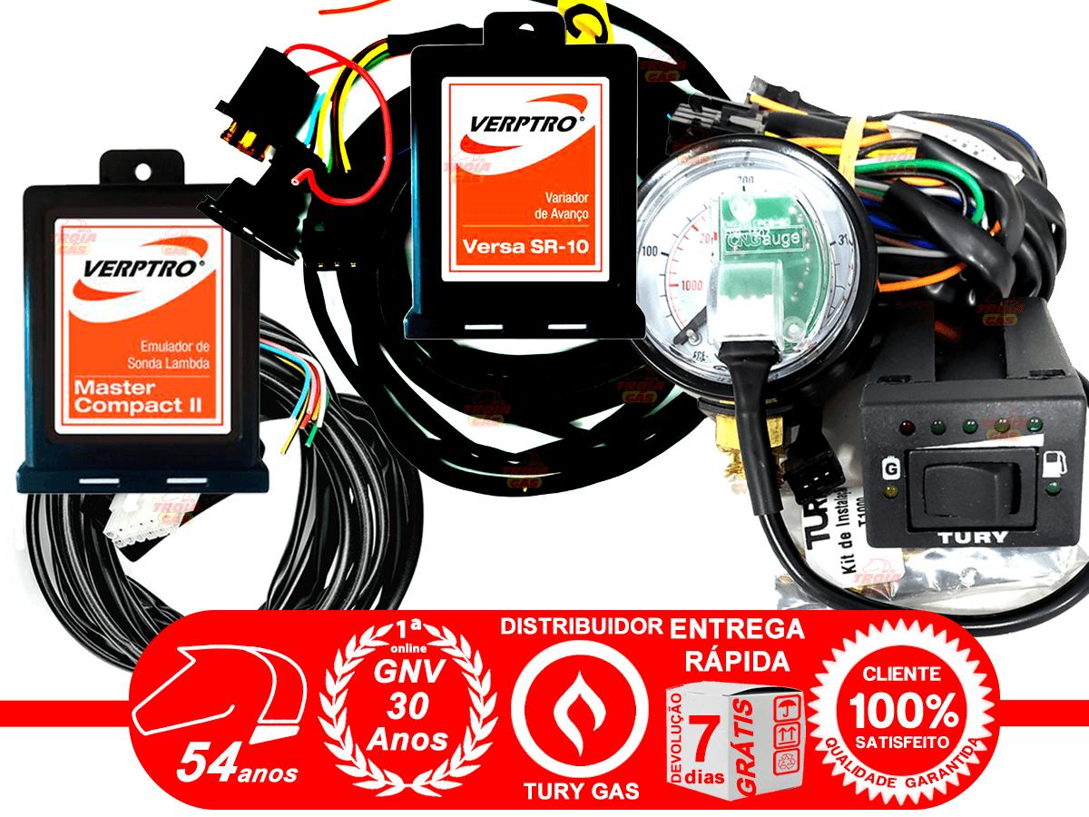 Simulador Flex 2 Sondas Master e Variador Avanço SR10 Verptro Comutadora T1000A Tury