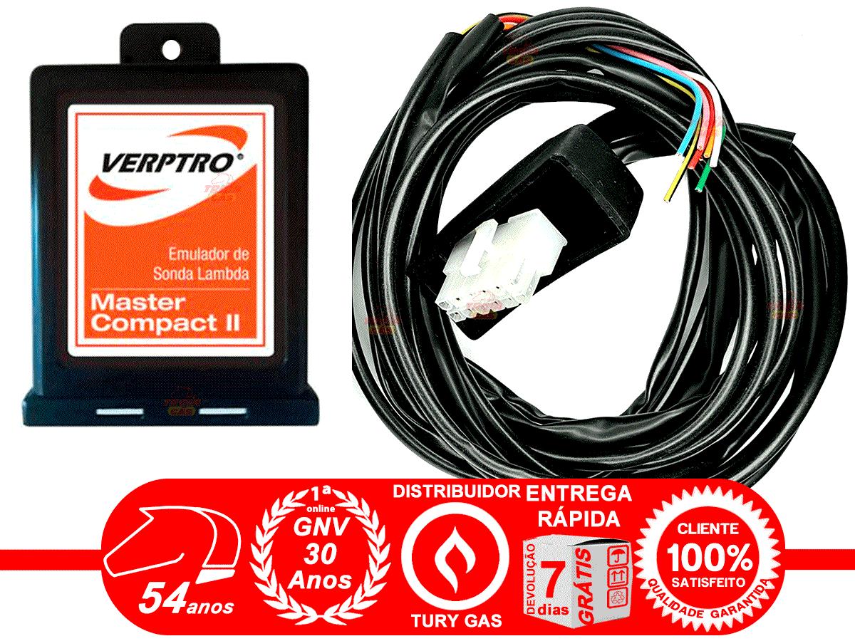 Simulador Flex e 2 Sondas GNV VERPTRO ESL Master Compact II
