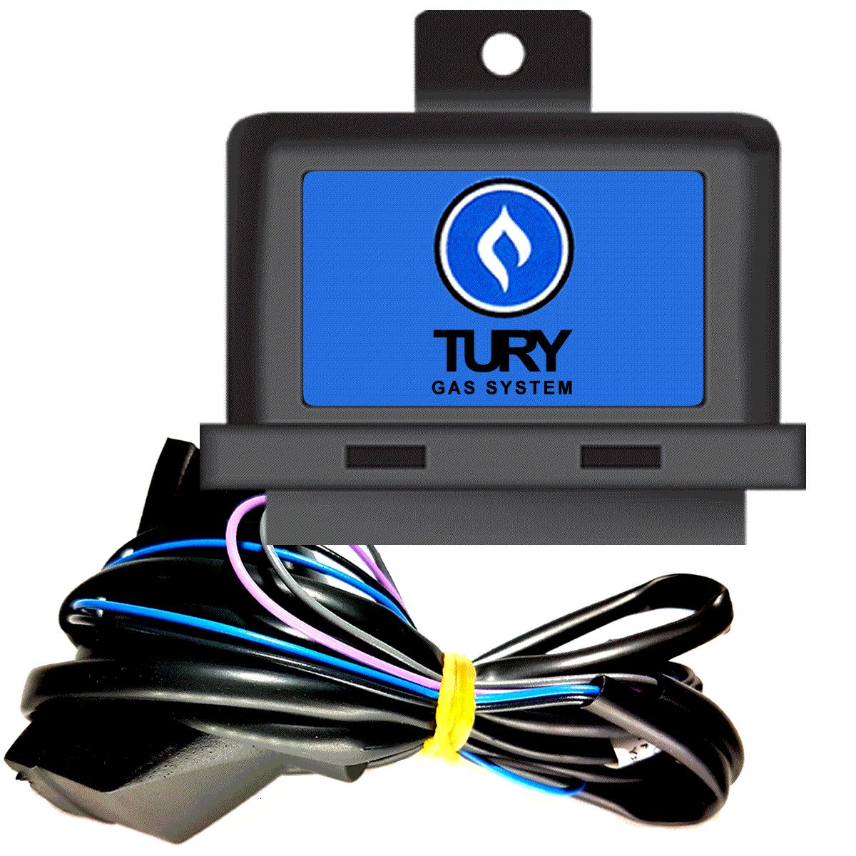 Simulador Flex e ou 2 Sondas no GNV T68 TURY GAS