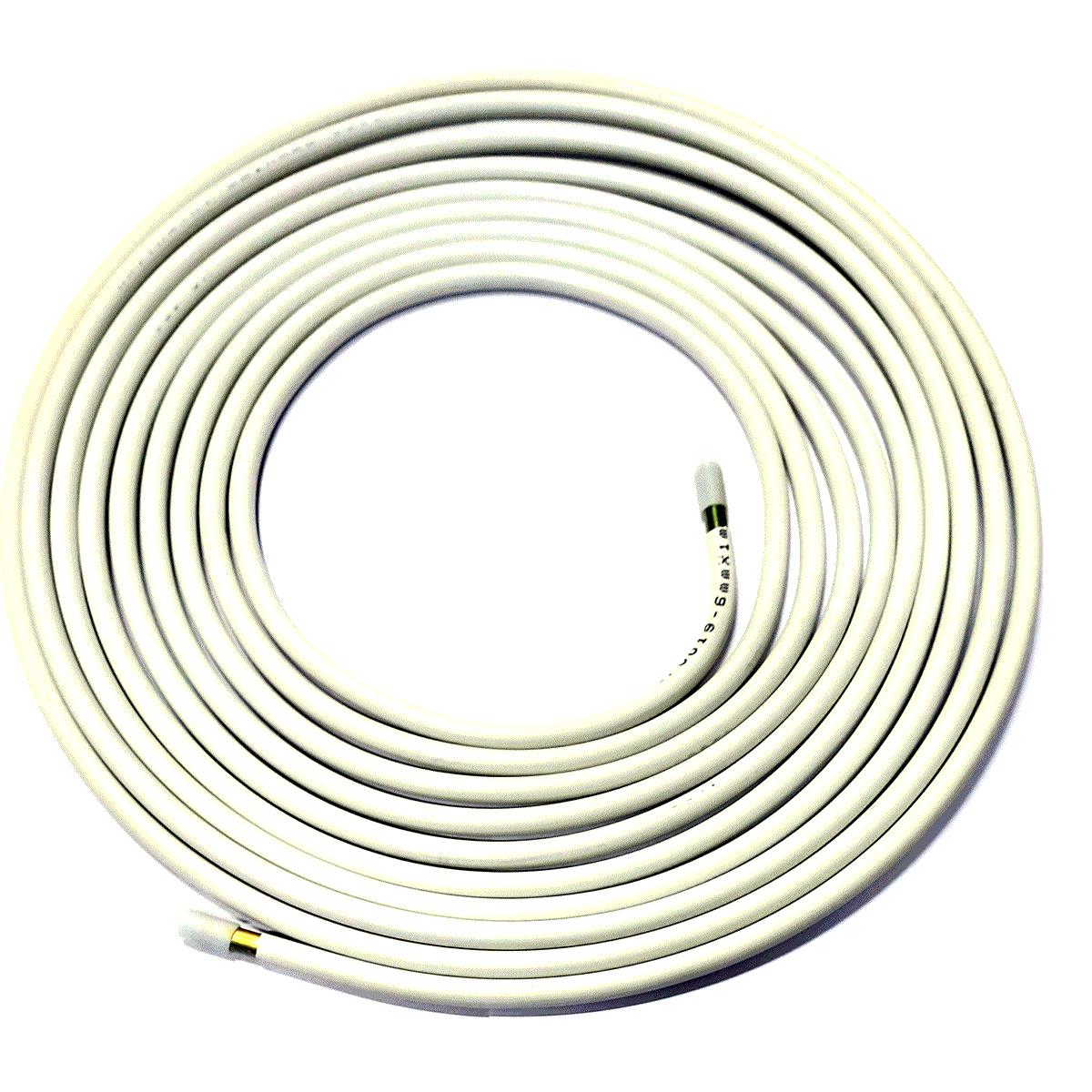 Tubo de Alta Pressão Aço Revestido 6 metros s/Costura p/GNV