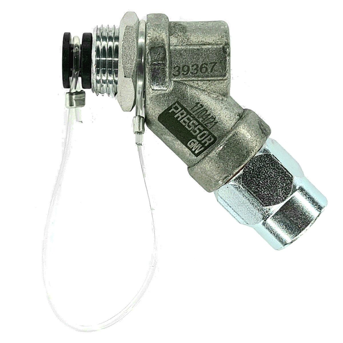Válvula de Abastecimento Externo GNV Préssor Aprovada IMNETRO