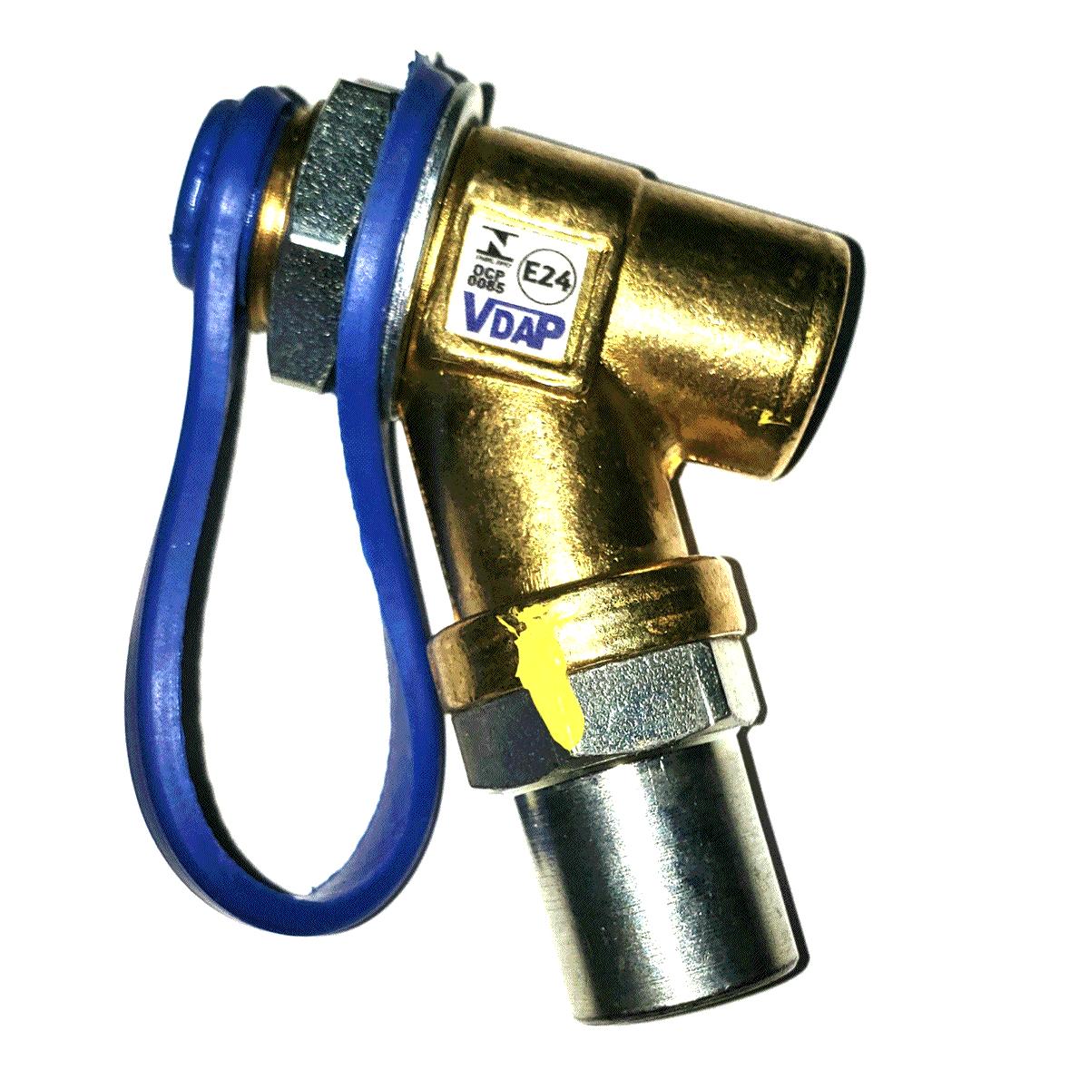 Válvula de Abastecimento Externo GNV VDAP