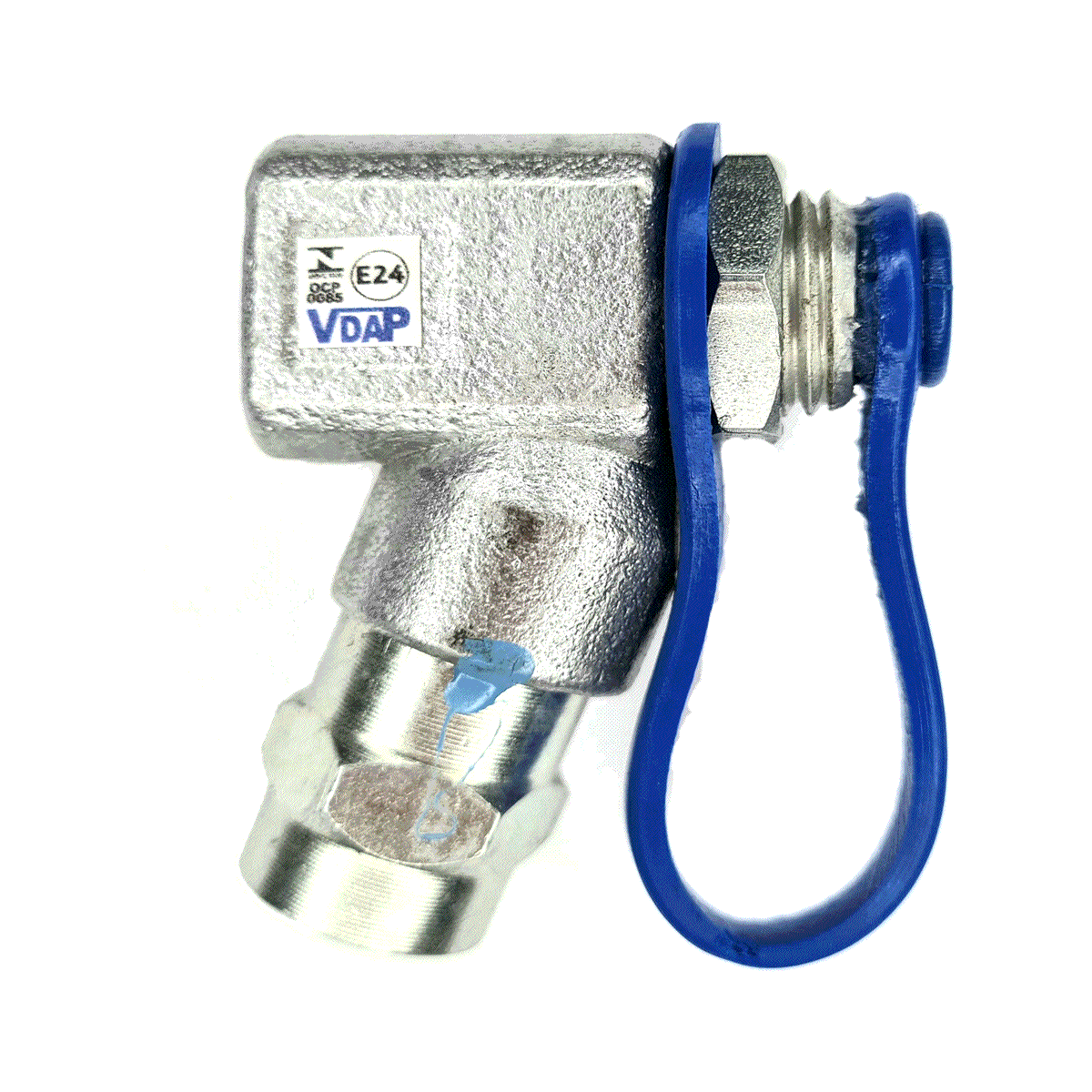 Válvula de Abastecimento Externo GNV VDAP Aço Aprovada IMNETRO