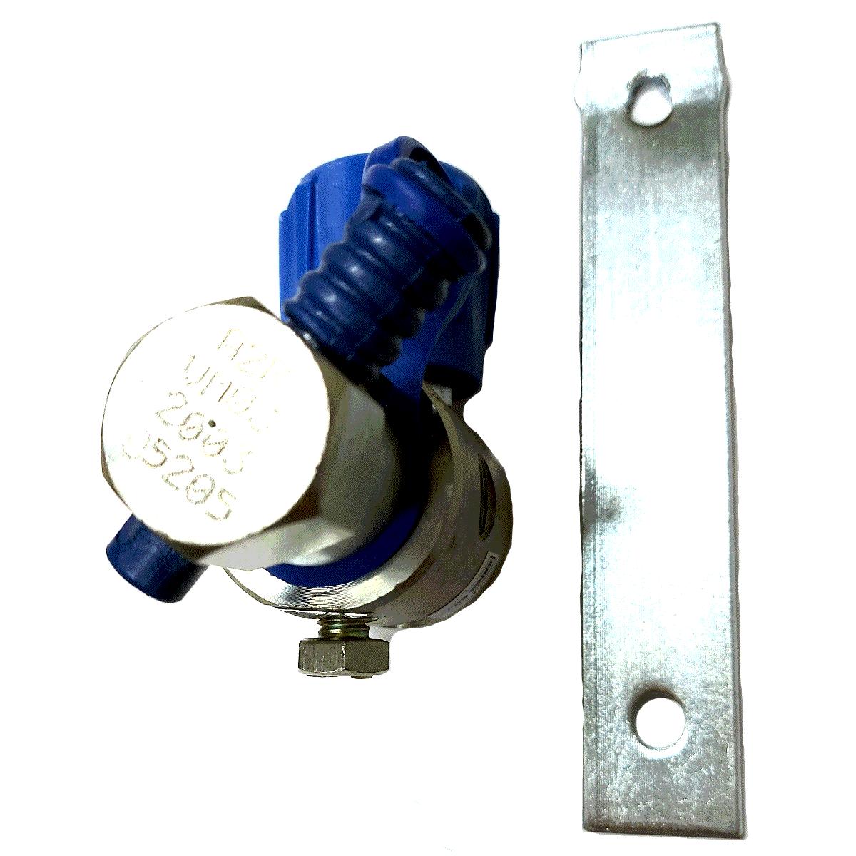 Válvula de Abastecimento GNV VDAP Aço Aprovada INMETRO