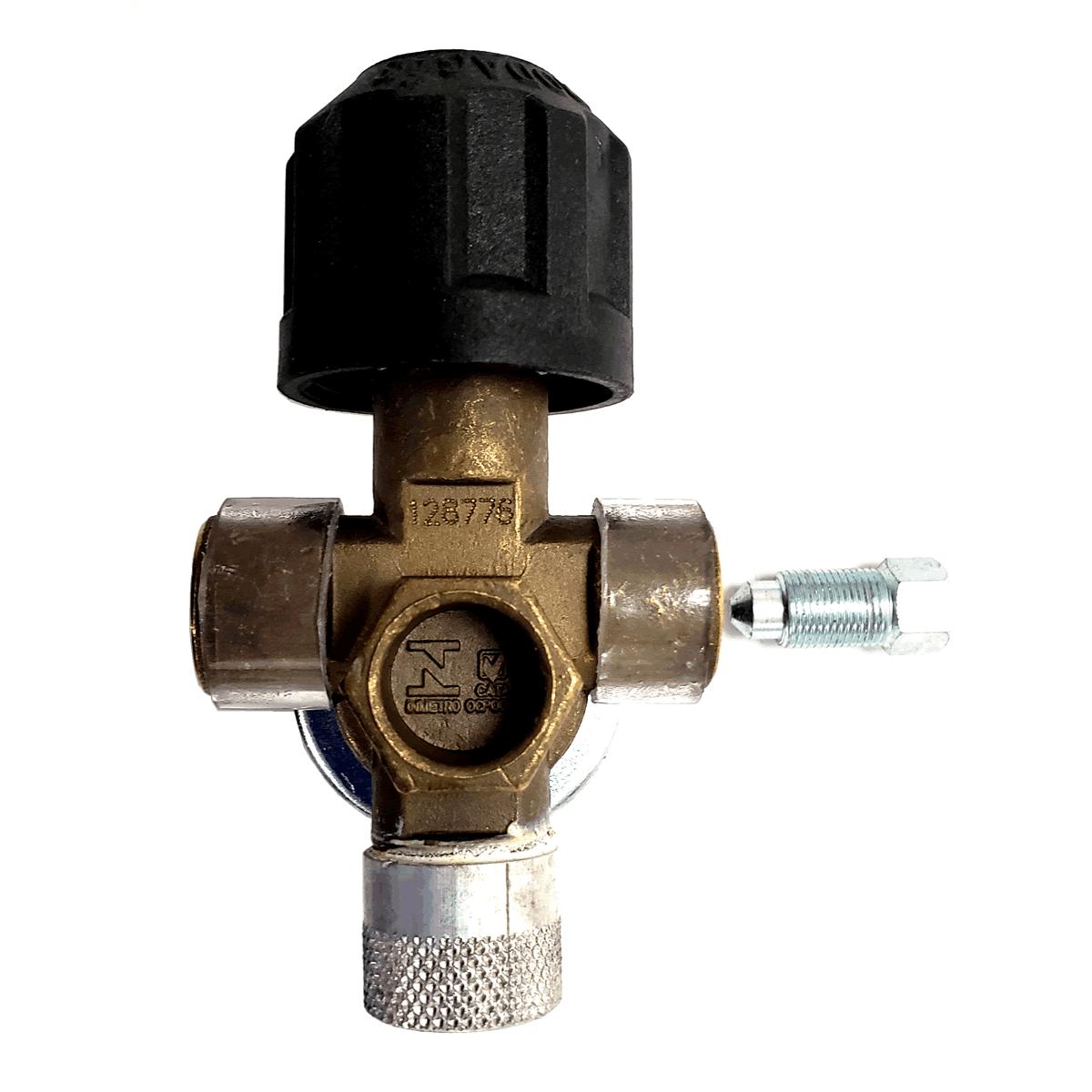 Válvula de Cilindro Sem Pescoço Ventilada GNV