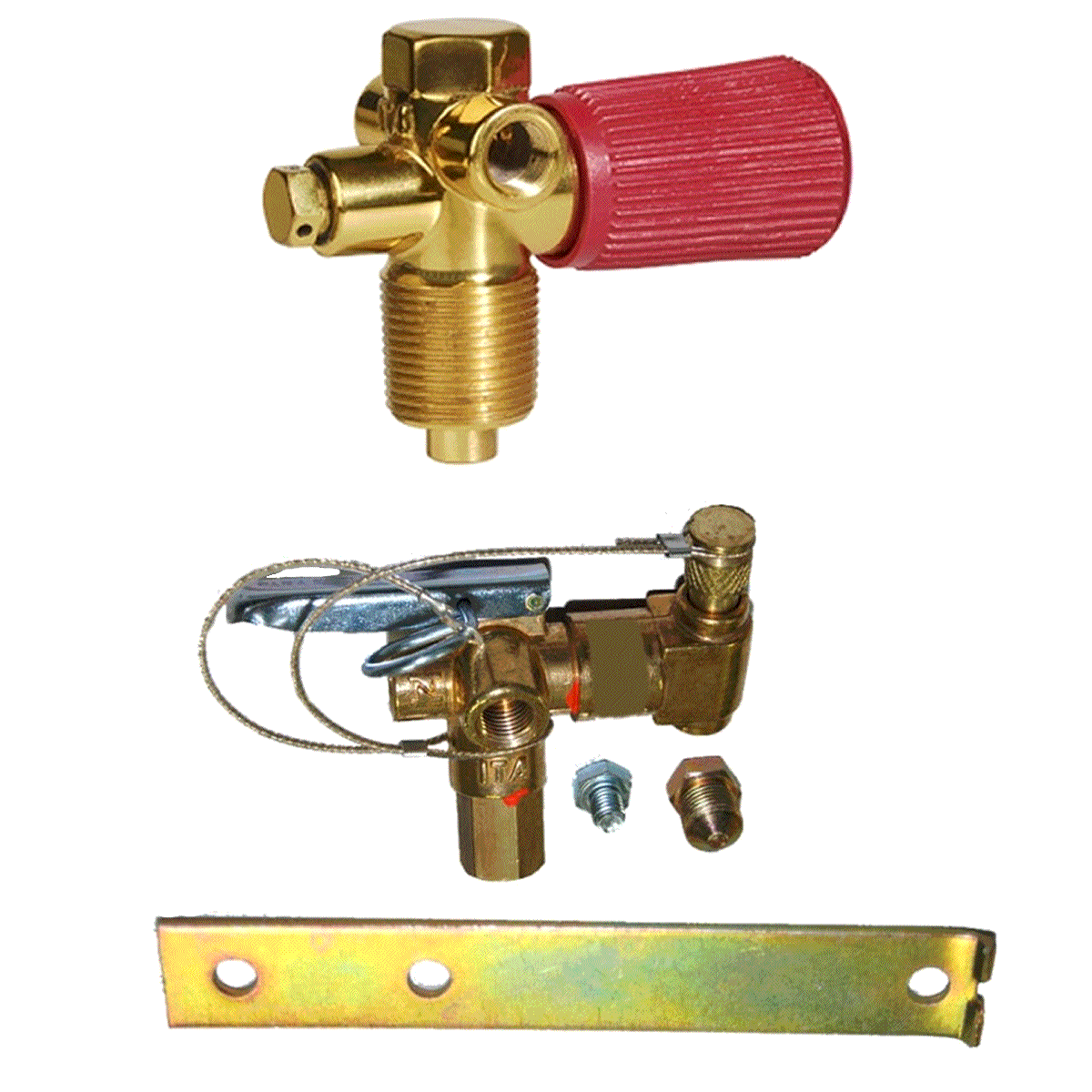 Kit 2 Válvulas ITA Abastecimento e Cilindro (Par)